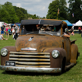 Vintage Car by Sanil Photographys - Transportation Automobiles ( car, blenheim palace, vintage cars )