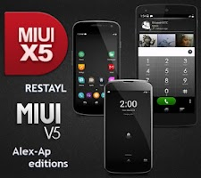 Screenshot of CM10/11 THEME MIUI v5 RESTAYL
