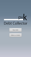 Screenshot of Debt Collector