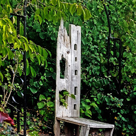 Garden chair by Michael Moore - Artistic Objects Furniture (  )