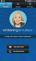 Screenshot of Whitening Simulator