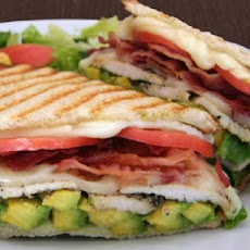Chicken and Avocado Panini Sandwiches