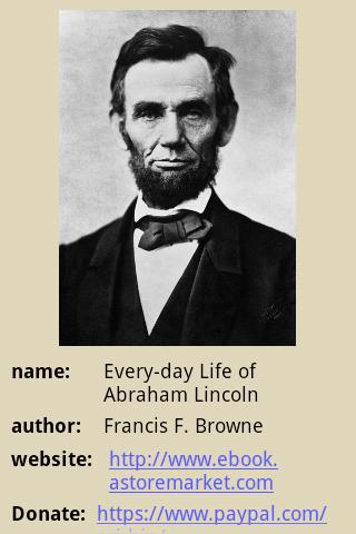 Everyday Life Abraham Lincoln