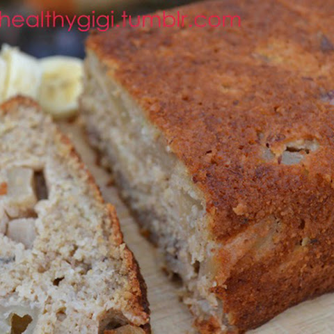 Clean Eating Banana & Apple Bread