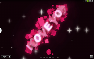 Screenshot of I Love You Live Wallpaper