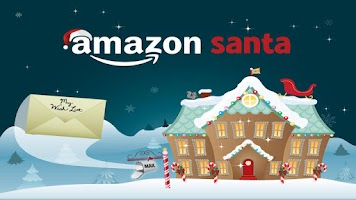 Screenshot of Amazon Santa