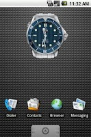 Screenshot of Omega Seamaster Clock 2x2