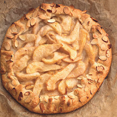 Pear Croustade with Lemon Pastry and Almonds