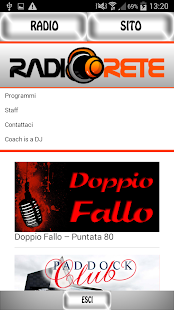 Radiorete - screenshot