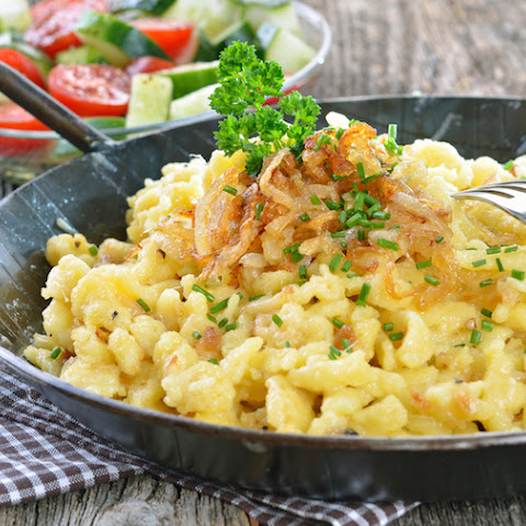 Spaetzle - Little Pasta 'Sparrows' From Sudtirol