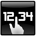 Click Clock Widget icon