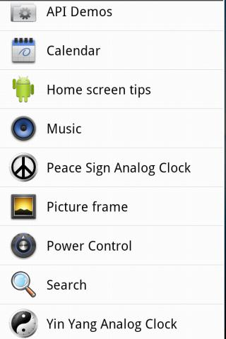 YinYang Clock Widget