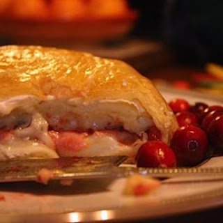 Cranberry Pear Baked Brie Recipes
