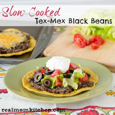 Slow Cooked Tex-Mex Black Beans