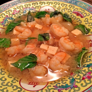 Lemon Basil Shrimp Soup
