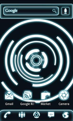 玩個人化App 灼熱旋轉動態壁紙免費 APP試玩