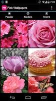Screenshot of Pink Wallpapers & Backgrounds