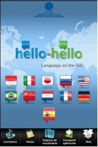 Hello-Hello スペイン語 電話