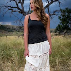 Storm by Dave Zuhr - People Portraits of Women ( girl, nature, beautiful, d_zuhr, storm, dzuhr )