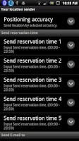 Screenshot of Your location Sender + SMS