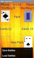 Screenshot of War Card Game