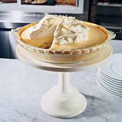 White Chocolate Banana Cream Pie