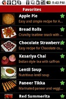 Screenshot of Shveta's Recipes