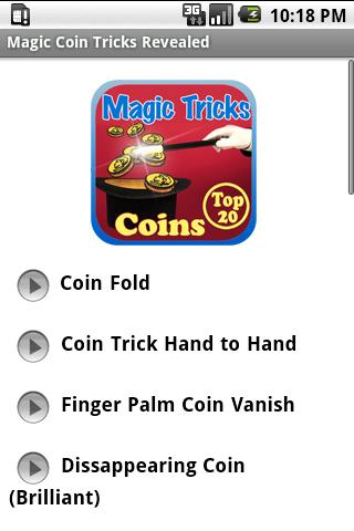 Magic Coin Tricks Revealed
