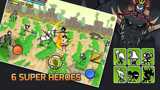Cartoon Wars 2 APK screenshot thumbnail 3