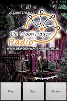Screenshot of DeWoonwagenRadioPlayer