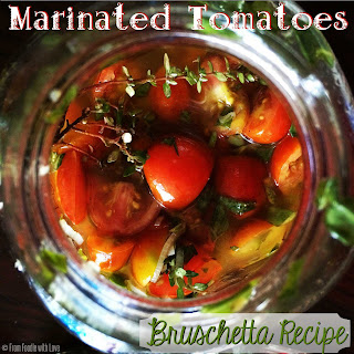 Marinated Tomatoes | Bruschetta