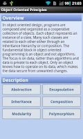 Screenshot of Object Oriented Principles