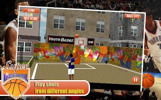Screenshot of 3D Super Basketball