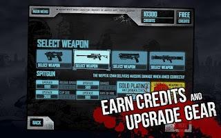 Screenshot of Judge Dredd vs. Zombies