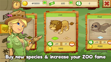 Screenshot of Animal Park Tycoon Halloween