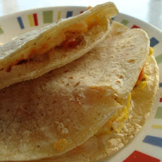 Bacon, Egg and Cheese Quesadillas
