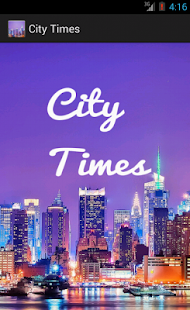 City Times - screenshot