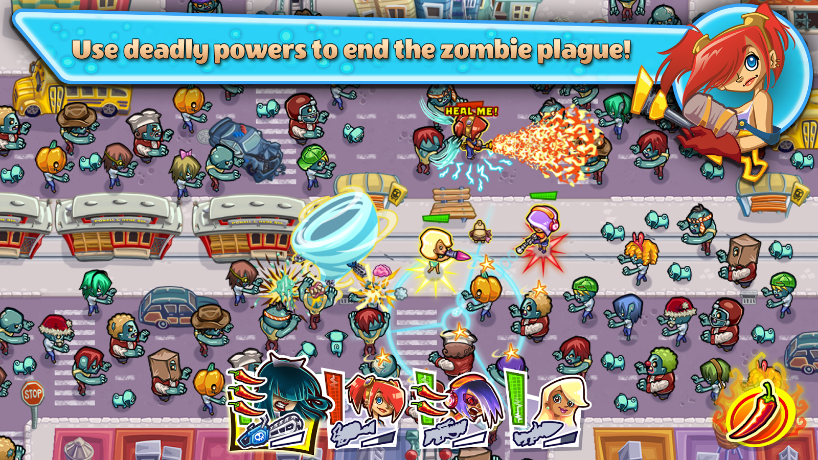 Guns'n'Glory Zombies Premium Screenshot 8