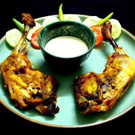 Chicken Leg Kabab !!! by Abhijit Palit - Food & Drink Plated Food