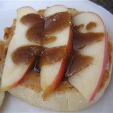 Apple and Peanut Butter Breakfast Rounds