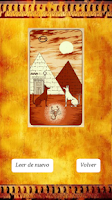 Screenshot of Tarot egipcio de la Fortuna