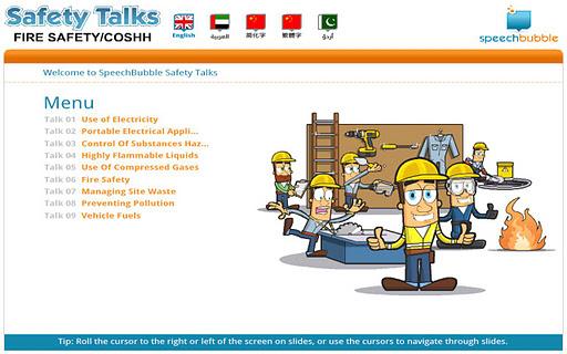 Safety Talks - Fire Safety ME