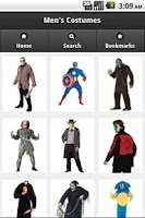 Screenshot of Costumes for Halloween