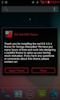 Screenshot of ICS Red OSB Theme