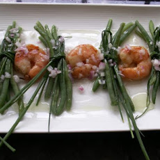Scallop Salad With Haricot Vert/ Green Beans
