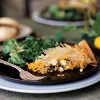 Butternut-Cheese Pie