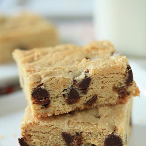 Ginger Walnut Chocolate Blondies Recipe   Yummly