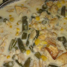 Green Bean & Corn Casserole