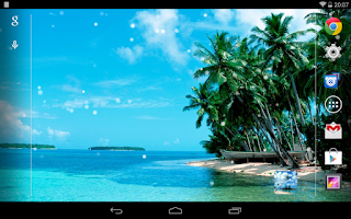 Screenshot of Maldives Live wallpaper Free