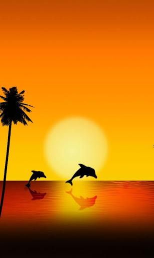 Paradise Island Theme 480x800